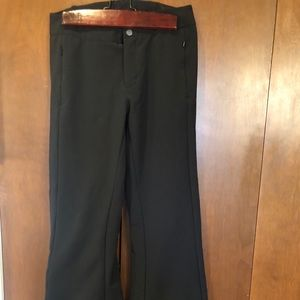 Womens North Face Snow pants, small, bootcut